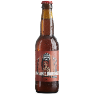 Het Brouwdok Harlingen - Captain's Daughter (Amber Bier)
