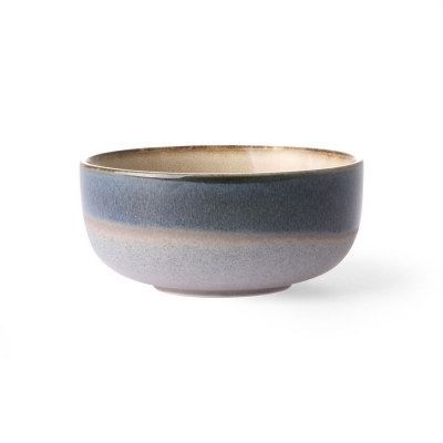 HKliving - Ceramic 70's bowl medium ocean tapas schaaltje keramiek