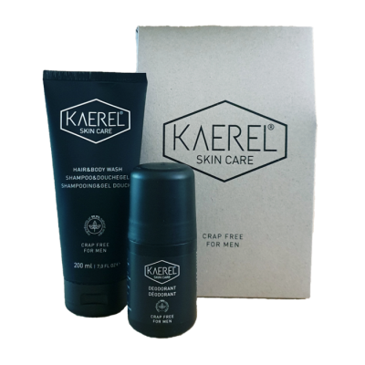 Yours Naturally - Kaerel Man Care 'Crap free' cadeauset