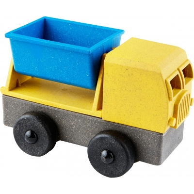 Tipper Truck (speelgoedauto en puzzel) - Luke's Toy Factory